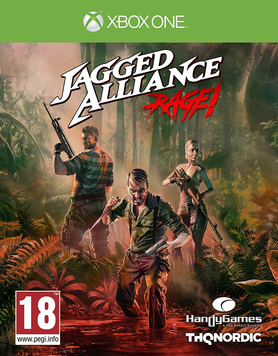 Jagged Alliance: Rage! (XONE)