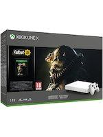 Konzole Xbox One X 1TB + Fallout 76 - Special White Edition