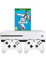 Konzole Xbox One S 1TB + FIFA 19 + 2x ovladač
