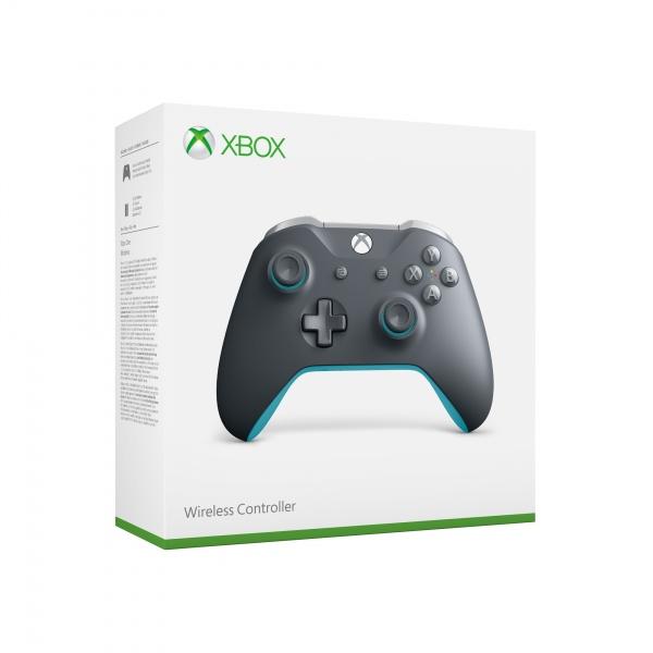 Xbox One ovladač - Grey/Blue (XONE)
