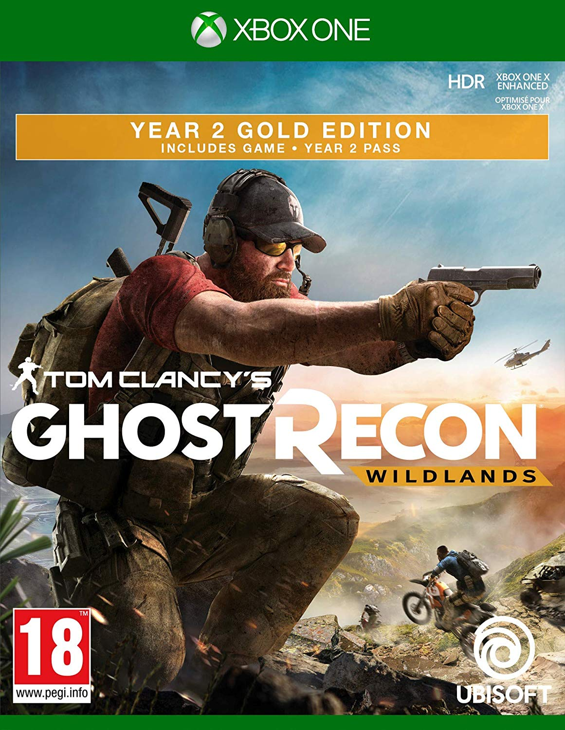 Tom Clancys Ghost Recon: Wildlands - GOLD Edition Year 2 (XONE)