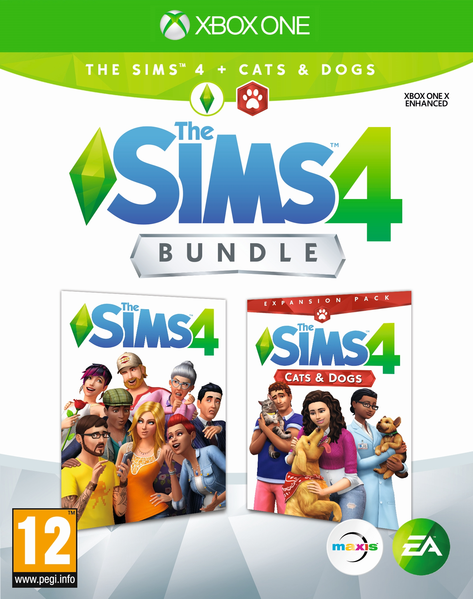 The Sims 4 + rozšíření Psi a Kočky (XONE)