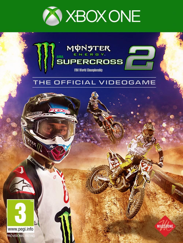 Monster Energy Supercross – The Official Videogame 2 (XONE)