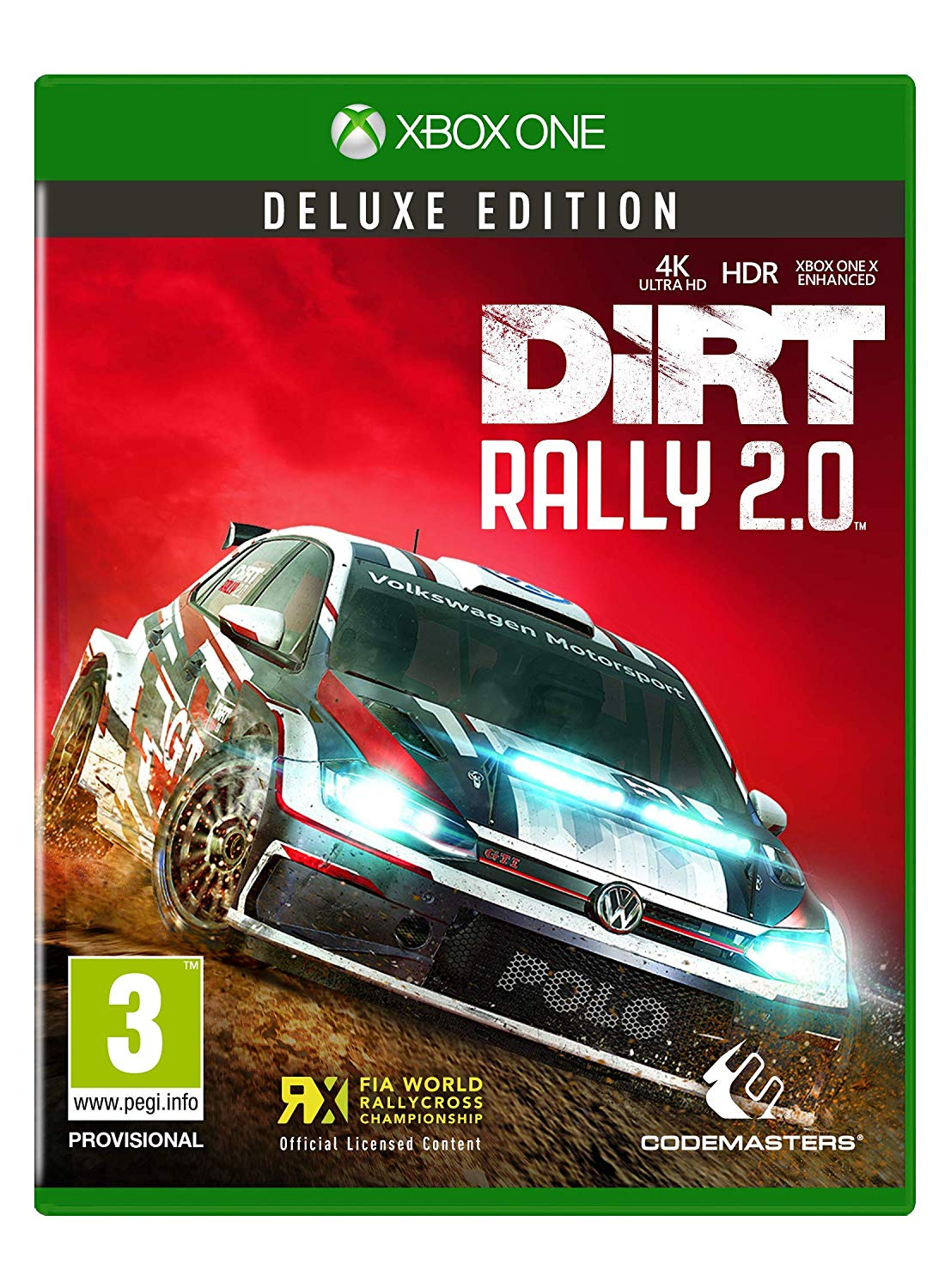 DiRT Rally 2.0 - Deluxe Edition (XONE)