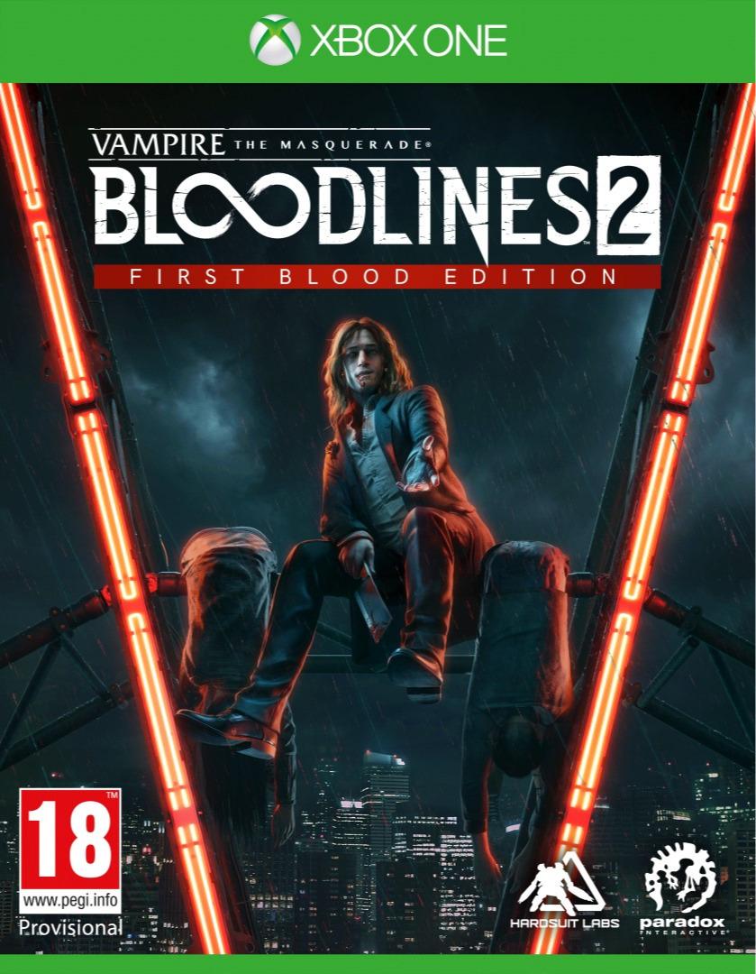 Vampire: The Masquerade - Bloodlines 2 - First Blood Edition (XONE)