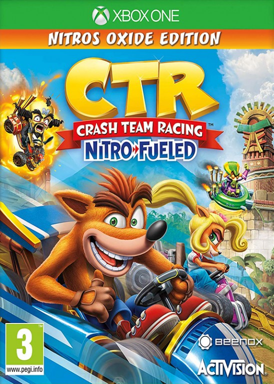 Crash Team Racing: Nitro Fueled - Nitros Oxide Edition (XONE)