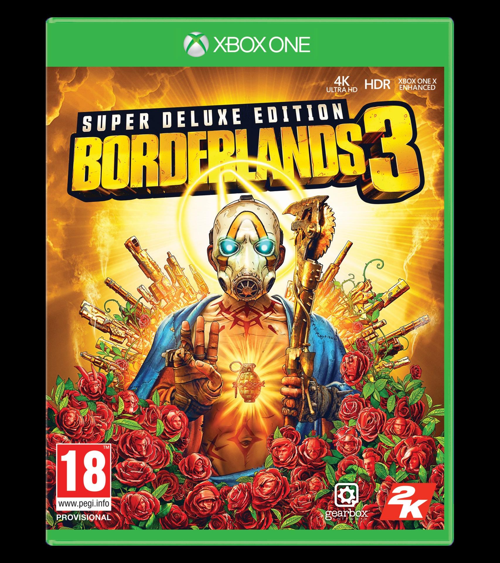 Borderlands 3 - Super Deluxe Edition (XONE)