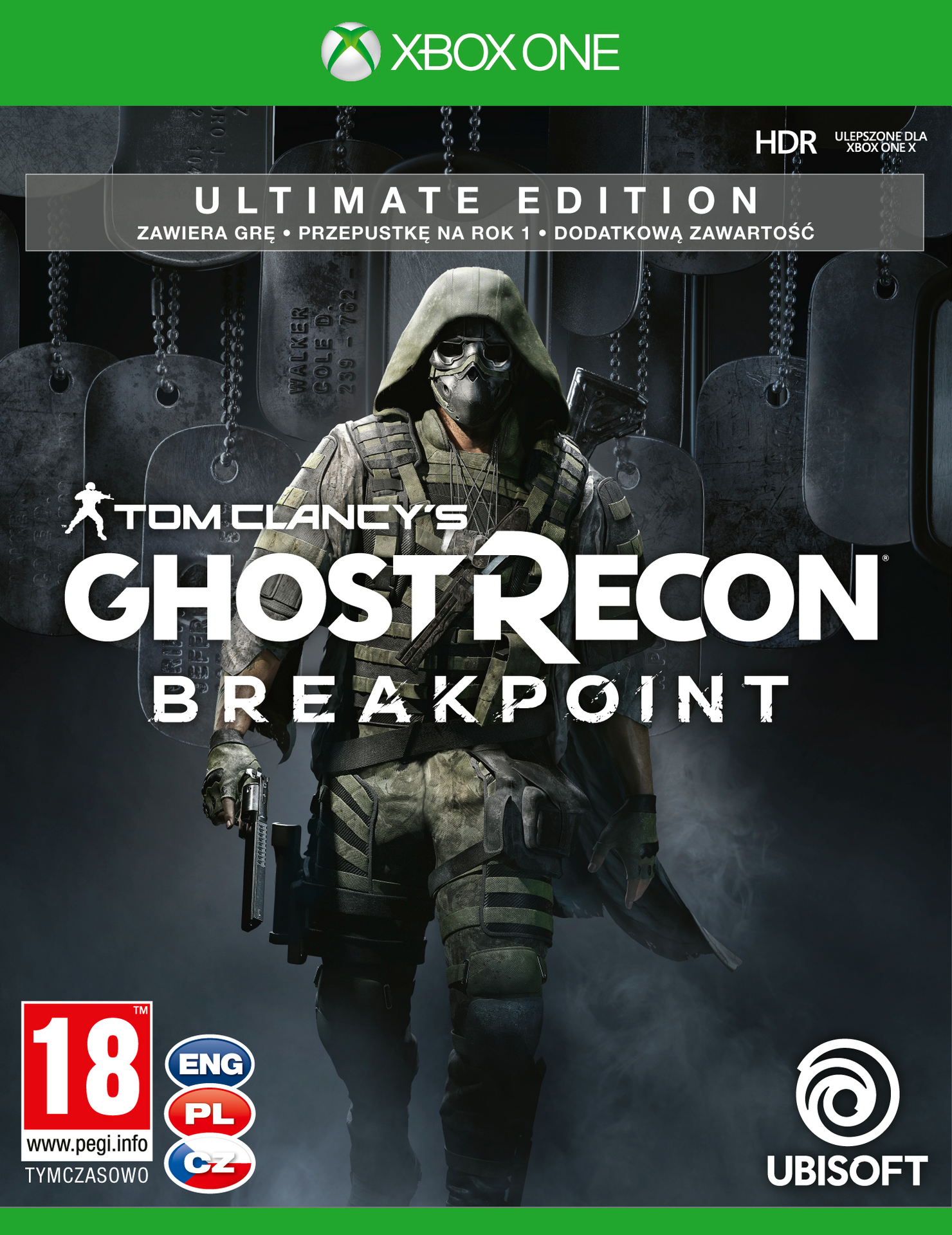 Tom Clancy's Ghost Recon: Breakpoint - Ultimate Edition (XONE)