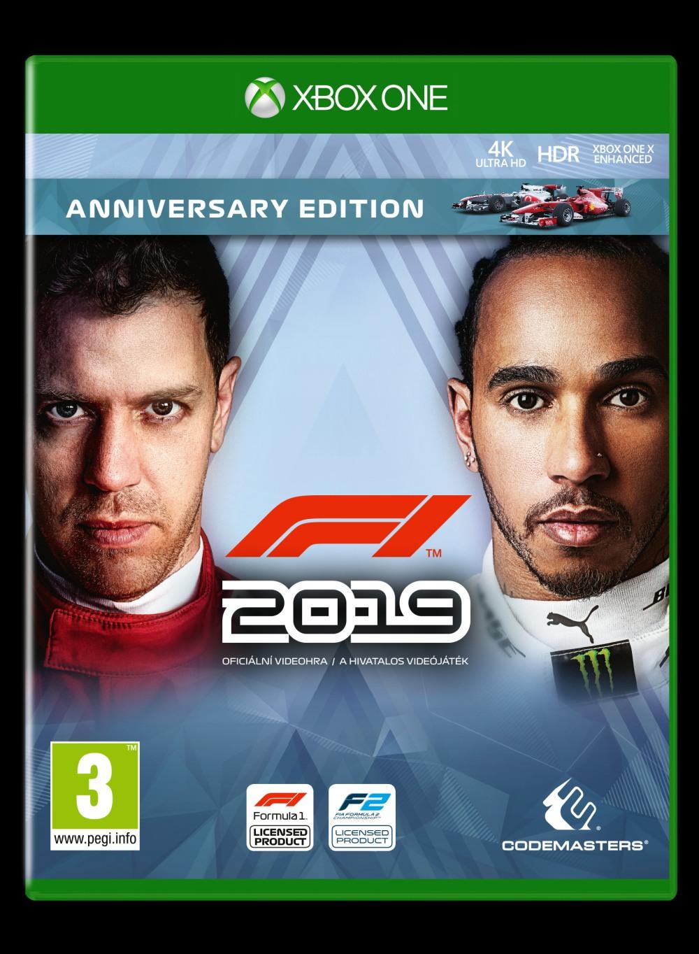F1 2019 - Anniversary Edition (XONE)