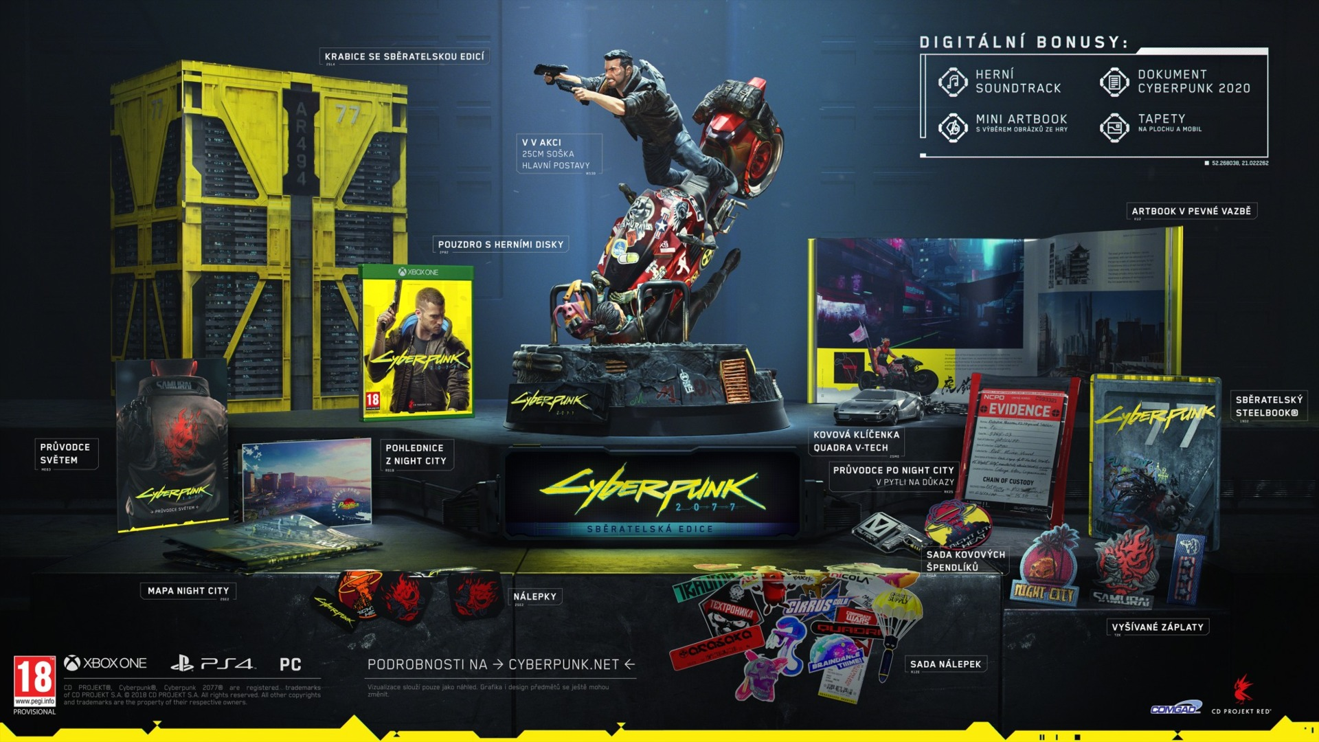 Cyberpunk 2077 - Collectors Edition (XBOX)