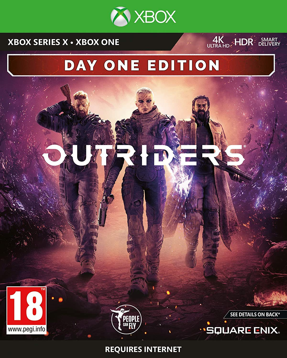 Outriders - Day One Edition (XSX)