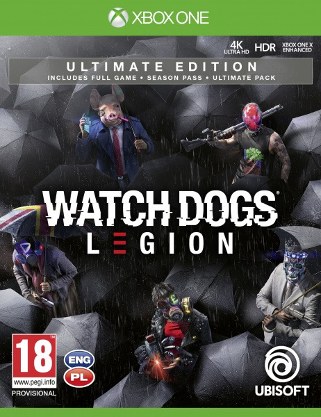 Watch Dogs Legion - Ultimate Edition (XONE)