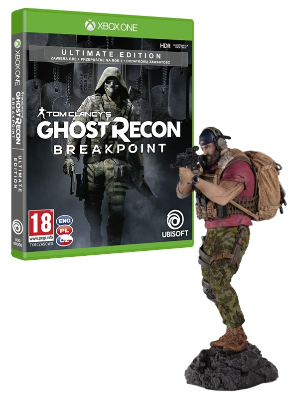 Tom Clancy's Ghost Recon: Breakpoint - Ultimate Edition + Figurka Nomada (XONE)