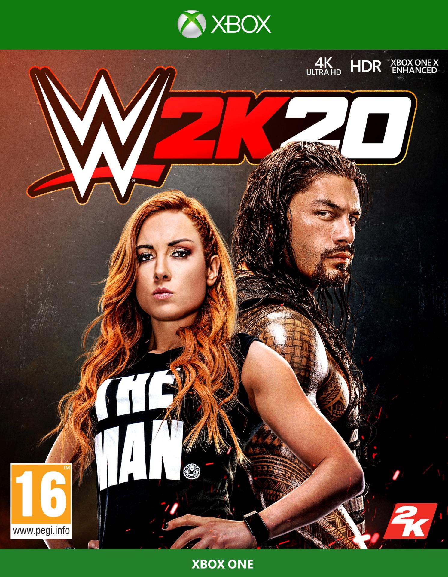 WWE 2K20 (XBOX)
