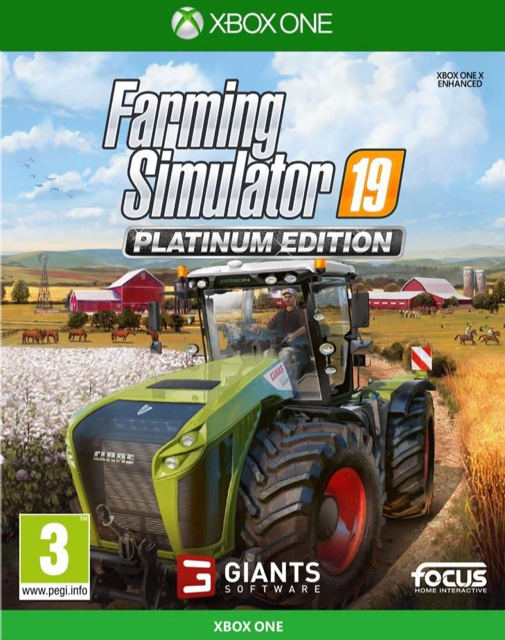 Farming Simulator 19 - Platinum Edition (XONE)