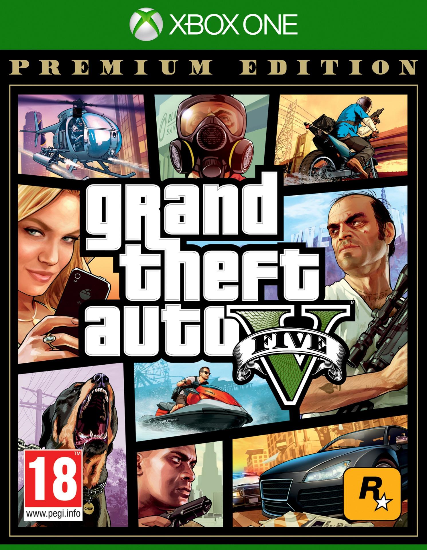 Grand Theft Auto V - Premium Edition (XONE)