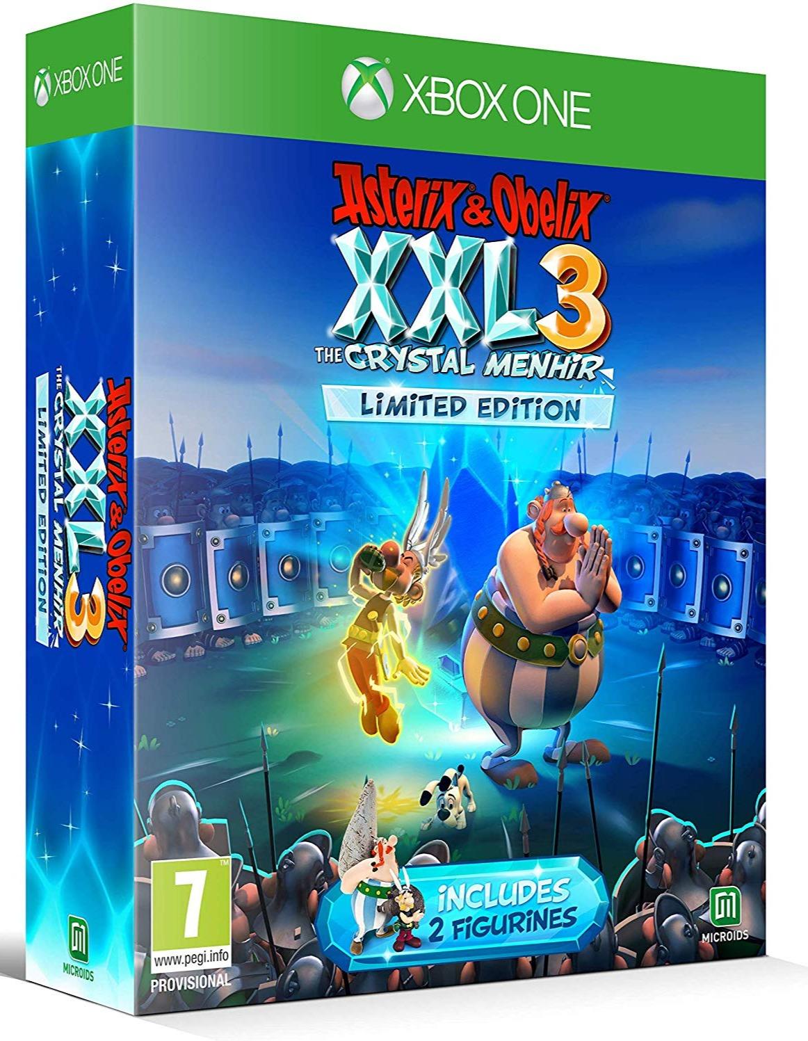 Asterix & Obelix XXL 3: The Crystal Menhir - Limited Edition (XONE)