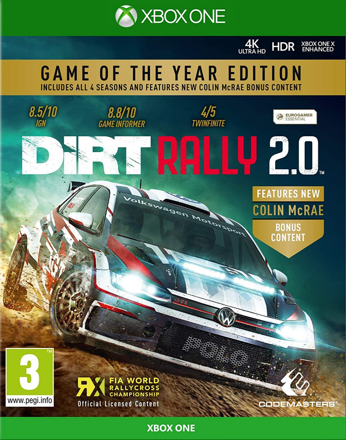 DiRT Rally 2.0 - Game of the Year Edition (XONE)