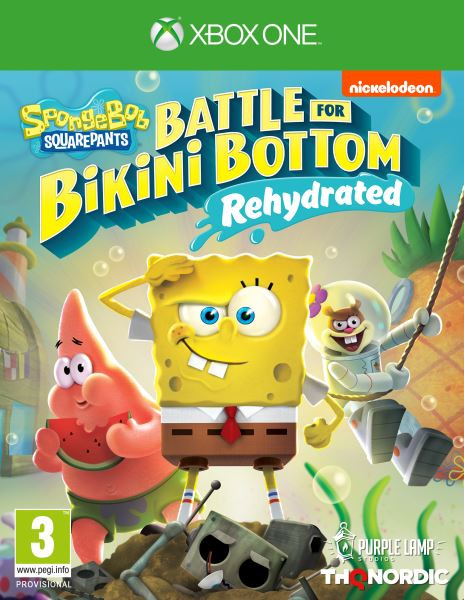 Spongebob SquarePants: Battle for Bikini Bottom - Rehydrated (XONE)