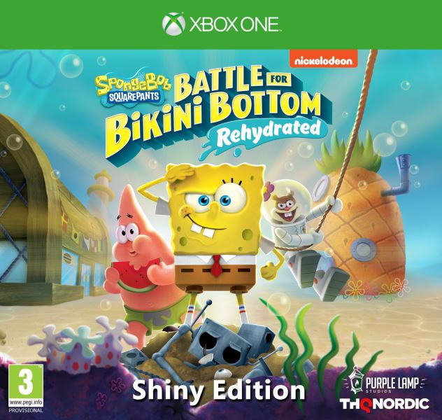 Spongebob SquarePants: Battle for Bikini Bottom - Rehydrated - Shiny Edition (XONE)