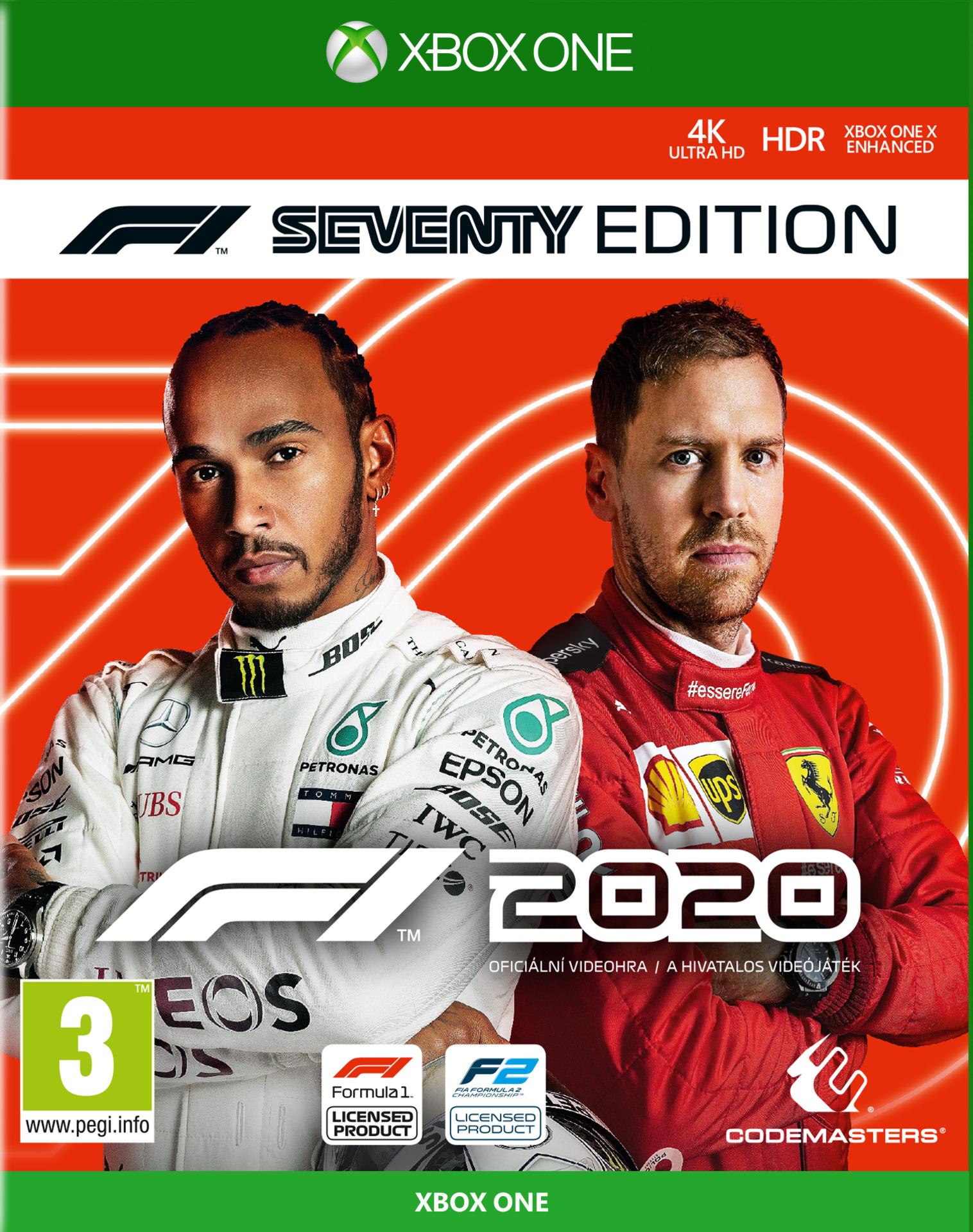 F1 2020 - Seventy Edition (XONE)