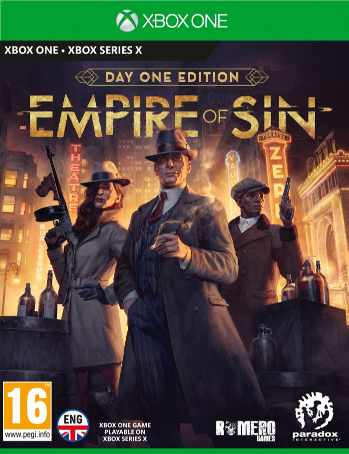 Empire of Sin - Day One Edition (XONE)