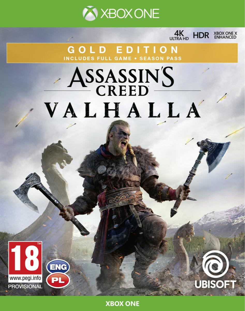 Assassins Creed: Valhalla - Gold Edition (XONE)