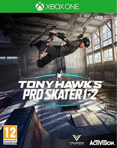 Tony Hawks Pro Skater 1 + 2 (XBOX)