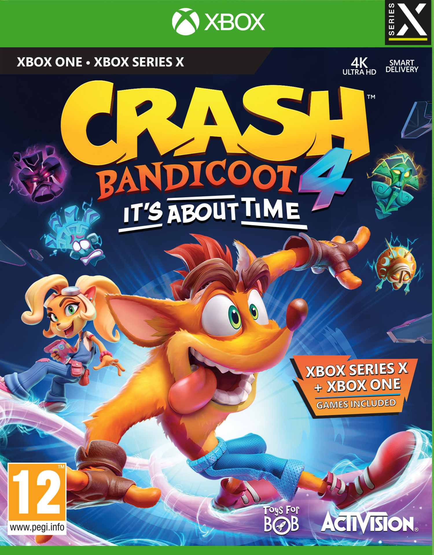 Crash Bandicoot 4: It's About Time (XONE)