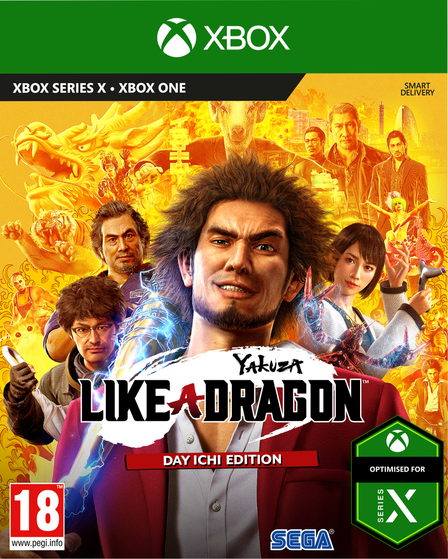 Yakuza: Like a Dragon - Day Ichi Edition (XONE)