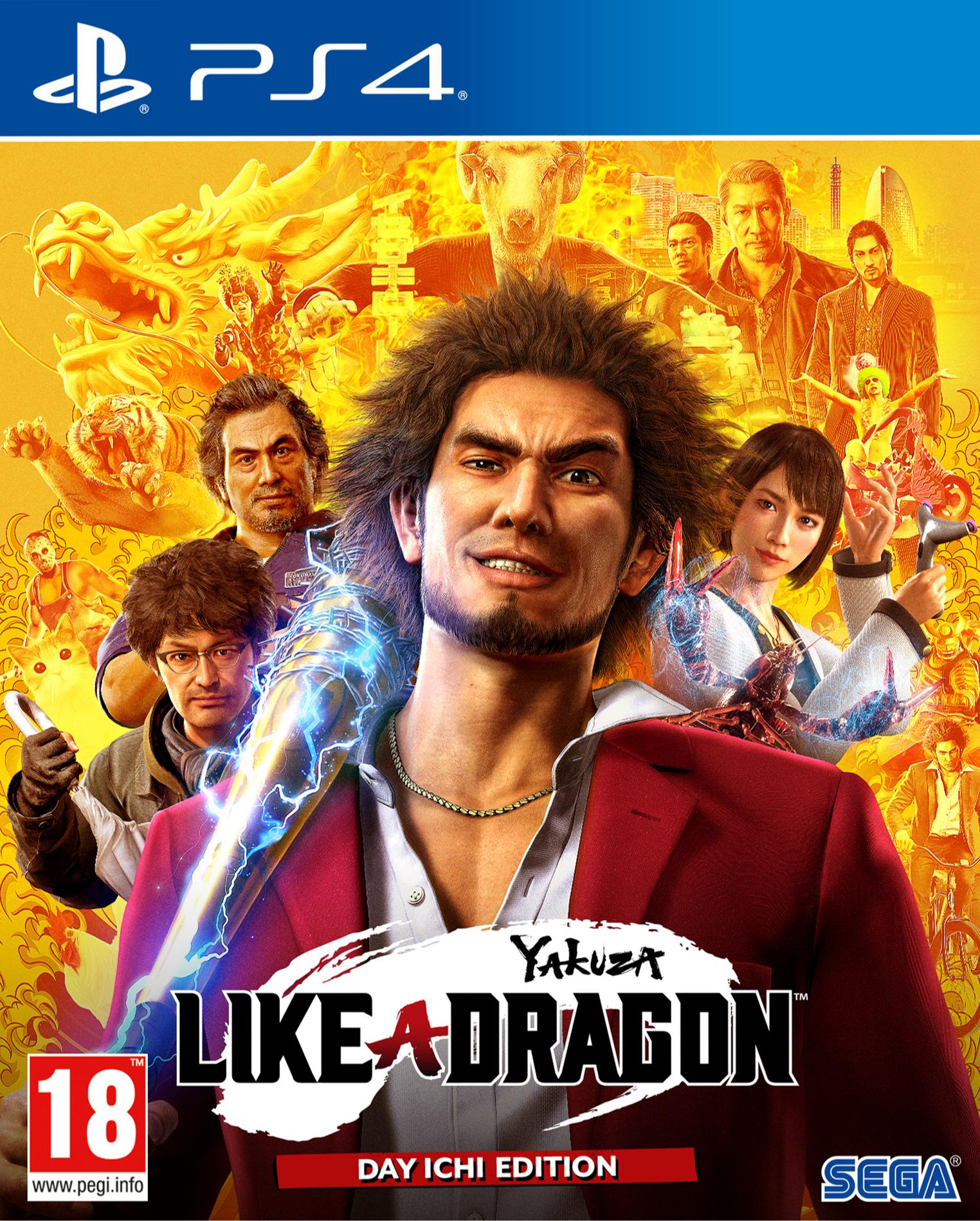 Yakuza: Like a Dragon - Day Ichi Edition (PS4)