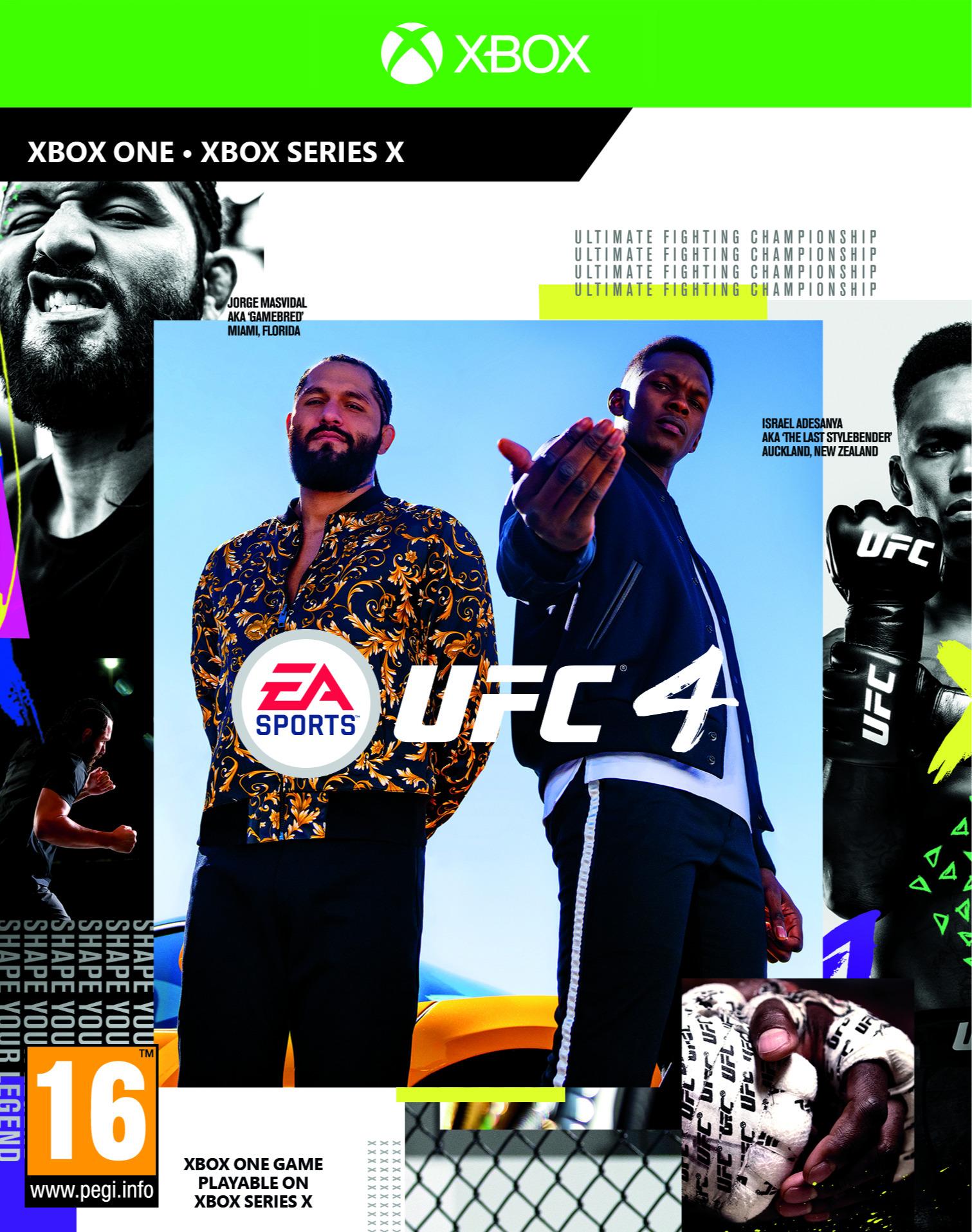 EA Sports UFC 4 (XONE)