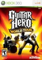 Guitar Hero IV: World Tour + kytara a bubny (XBOX 360)