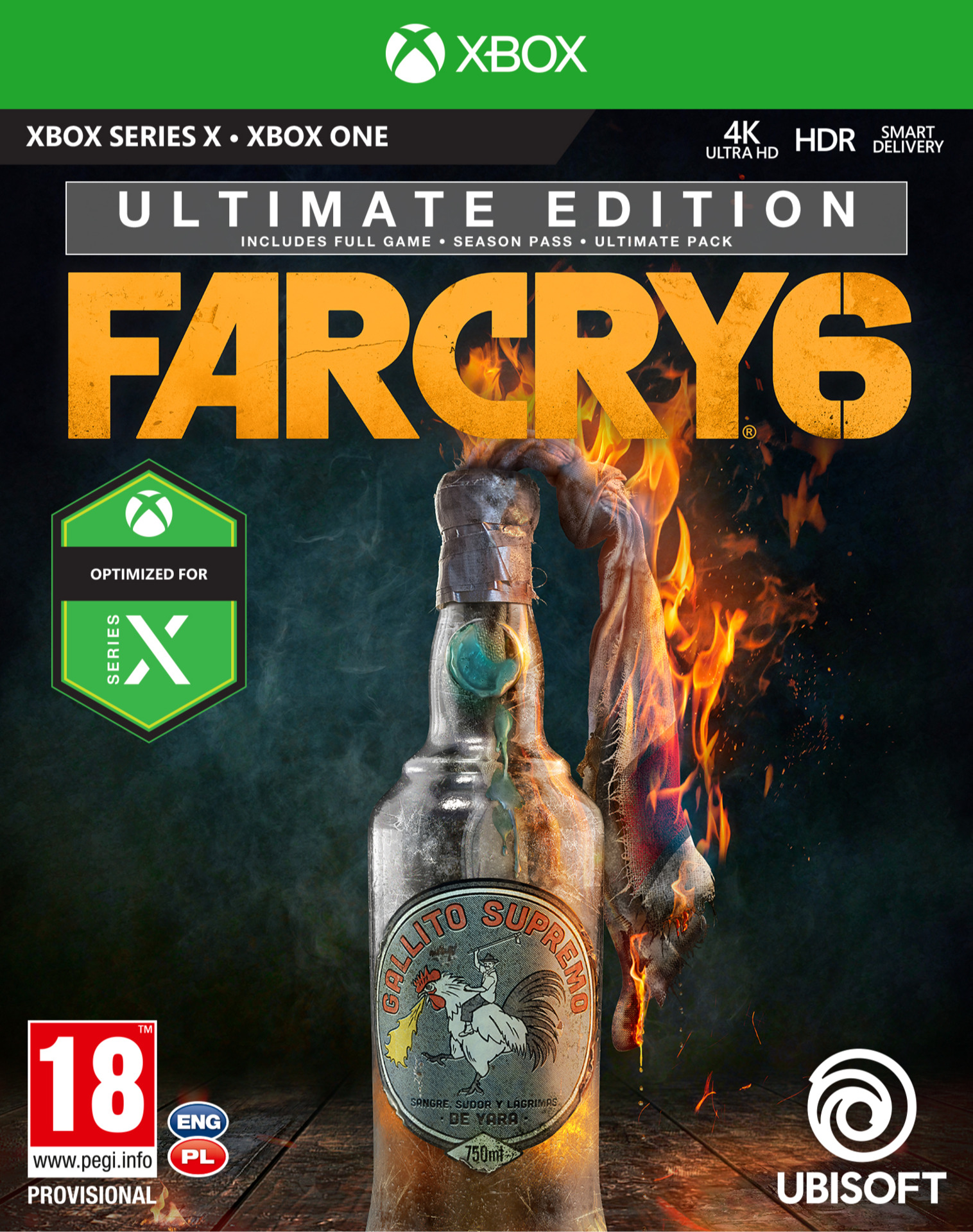 Far Cry 6 - Ultimate Edition (XONE)