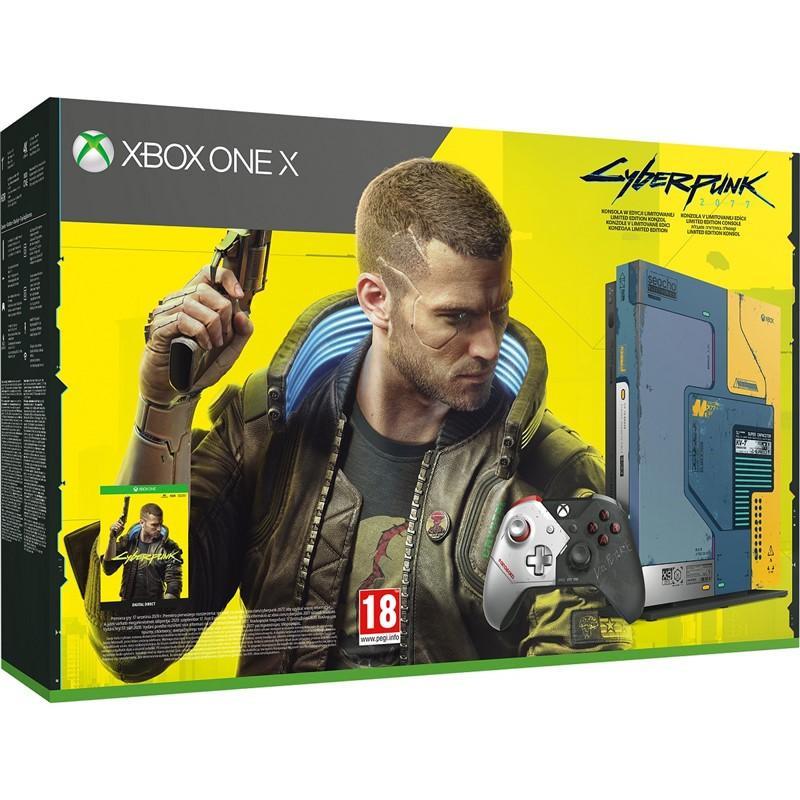 Konzole Xbox One X 1TB Cyberpunk 2077 Limited Edition (XONE)