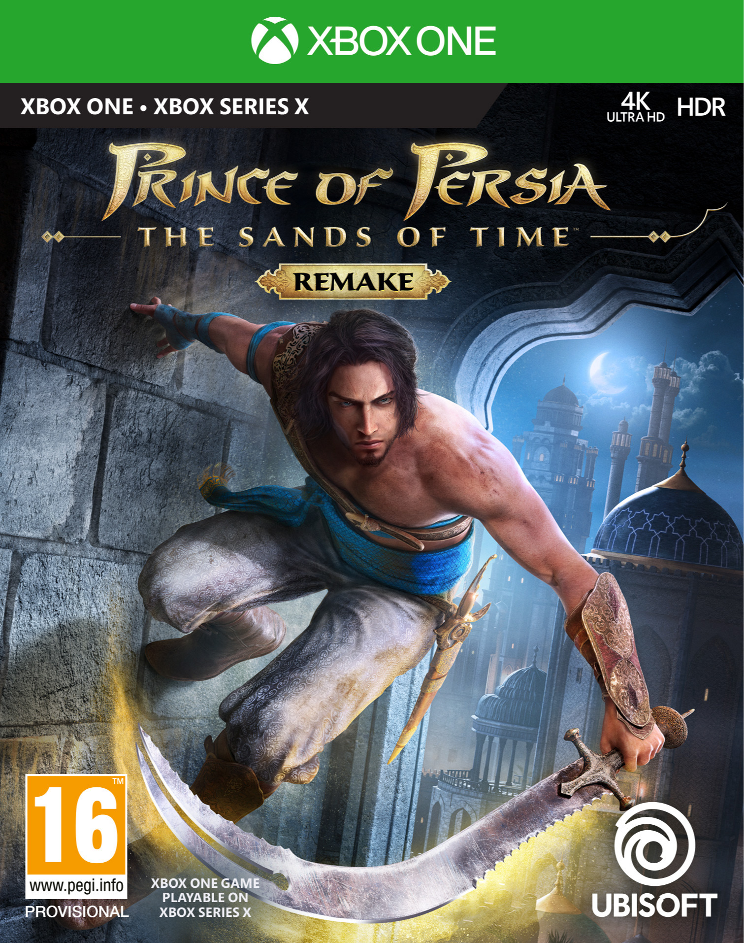 Prince of Persia: The Sands of Time Remake (XBOX)