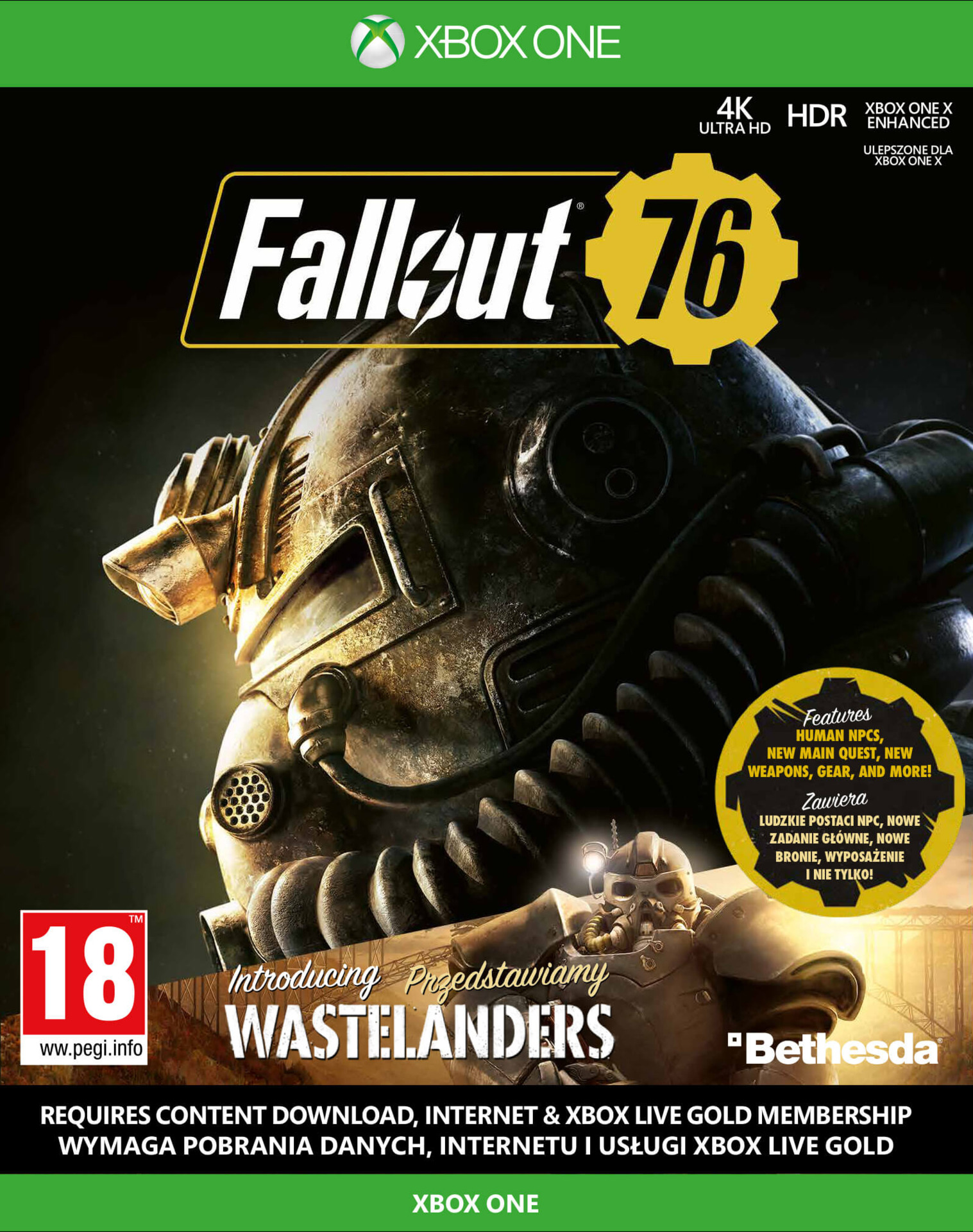 Fallout 76 Wastelanders (XBOX)