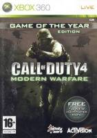Call of Duty 4: Modern Warfare GOTY (XBOX 360)