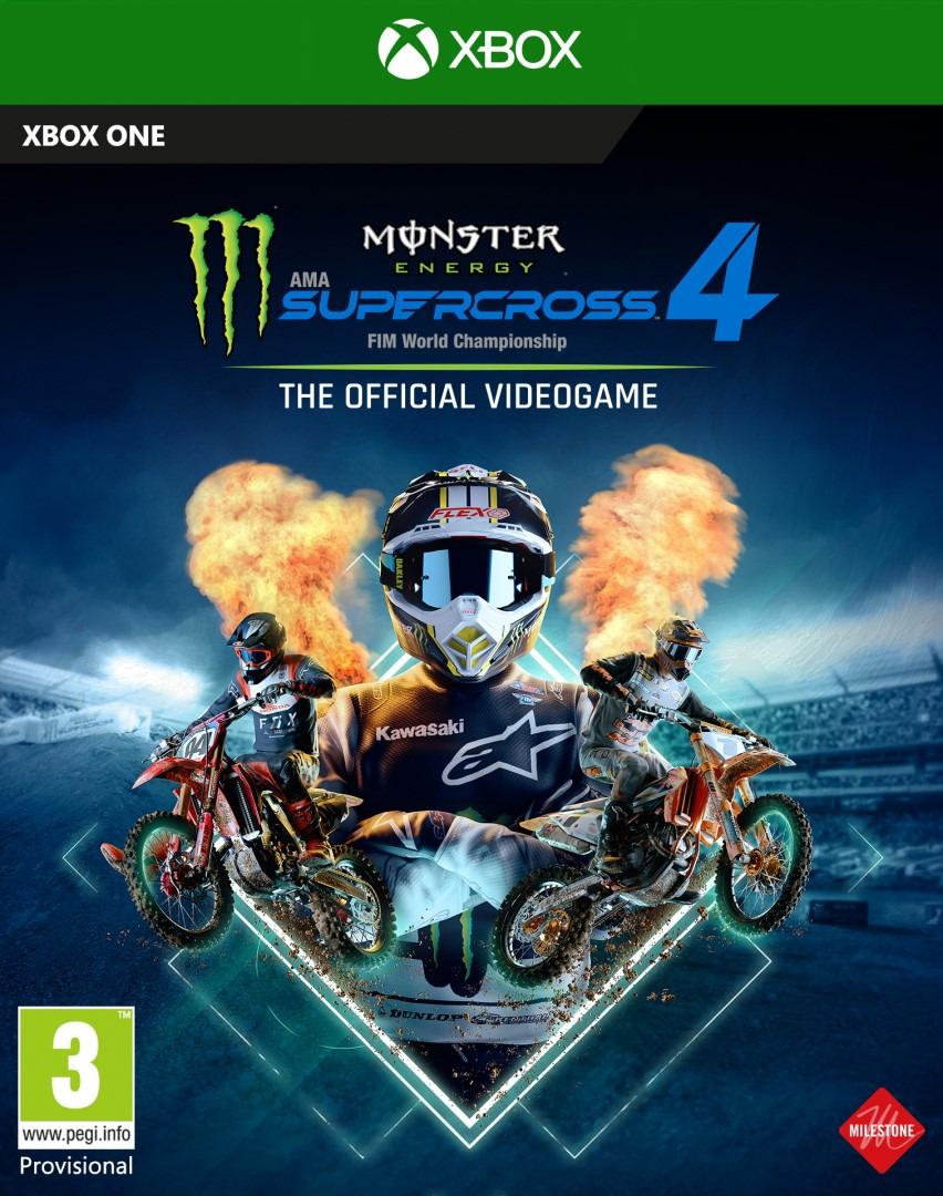 Monster Energy Supercross 4 (XBOX)