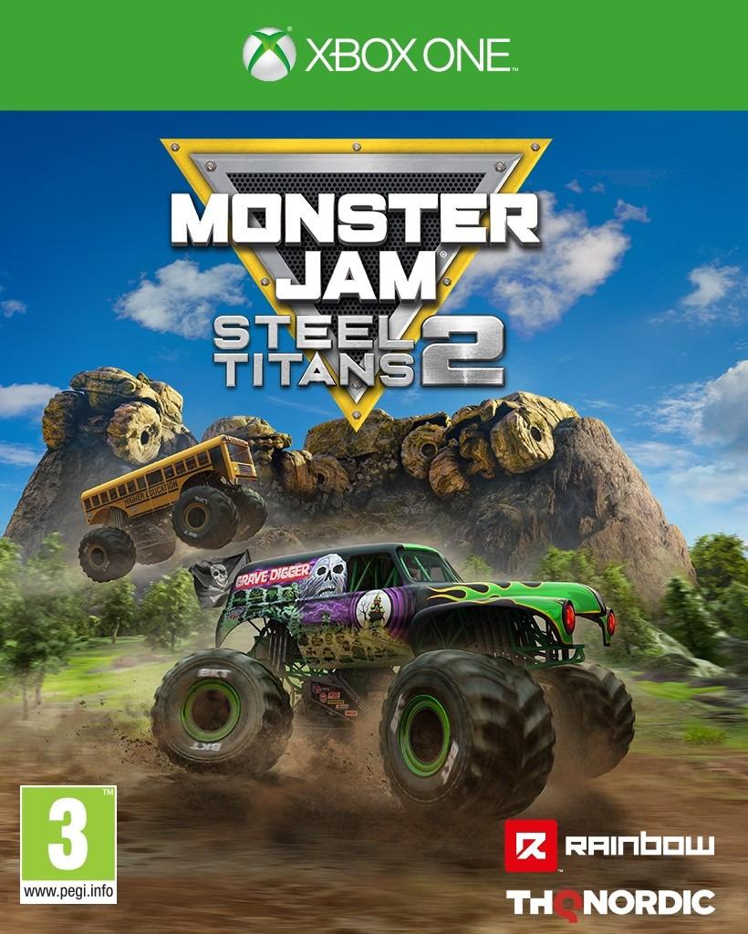 Monster Jam Steel Titans 2 (XBOX)