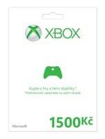 Xbox Live předplacená karta 1500 Kč (XBOX 360)