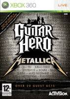 Guitar Hero: Metallica + kytara (XBOX 360)