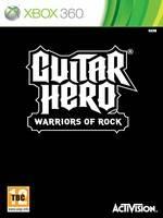Guitar Hero: Warriors of Rock + kytara a bubny (X360)