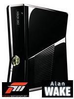 XBOX 360 Slim Black + Alan Wake + Forza 3 (XBOX 360)