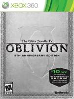 Koupit The Elder Scrolls: Oblivion 5th Anniversary Edition (XBOX 360)