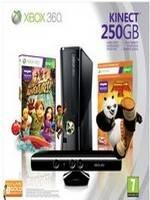 XBOX 360 Slim 250GB + Kinect + KungFu Panda 2 (XBOX 360)