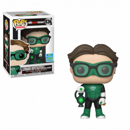 Figurka The Big Bang Theory - Leonard in Green Lantern Costume (Funko POP! Exclusive)