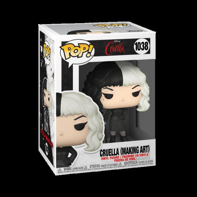 Figurka Cruella - Cruella Making Art (Funko POP! Disney 1038)
