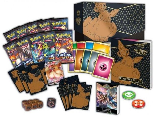 Karetní hra Pokémon TCG: Shining Fates - Elite Trainer Box