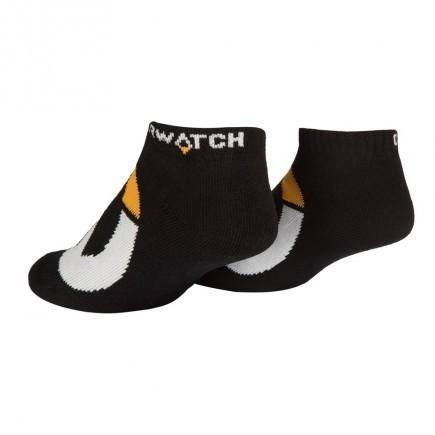 Overwatch Logo Socks (3 Pack)-One Size-Black